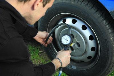 Les conséquences d'un mauvais gonflage de pneu