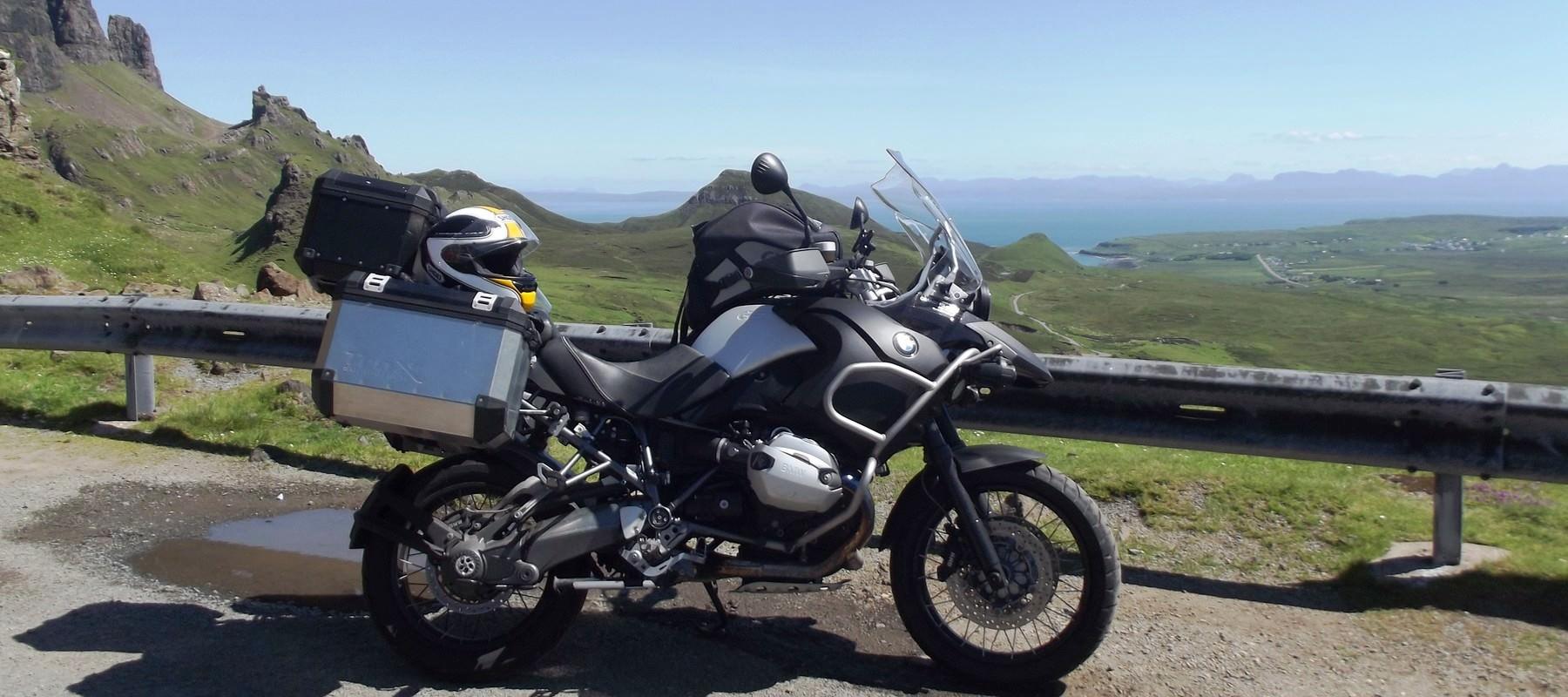 Depuis Nice, faites le tour de France en moto