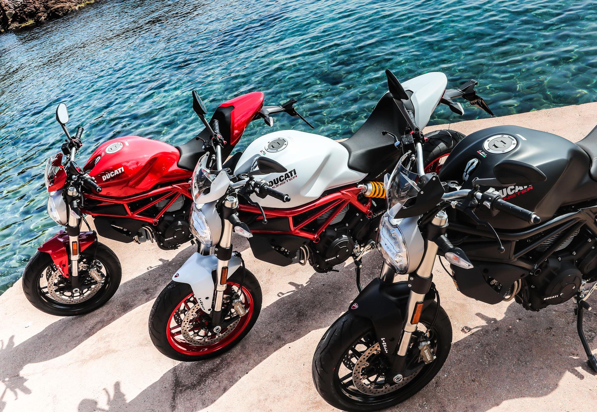 La Shiver 900 d'Aprilia et la Monster 797 Ducati : petit aperçu